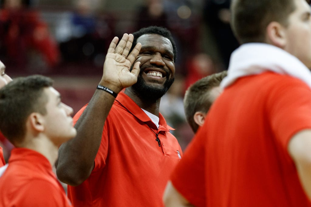 Greg Oden Ohio State assistant coach