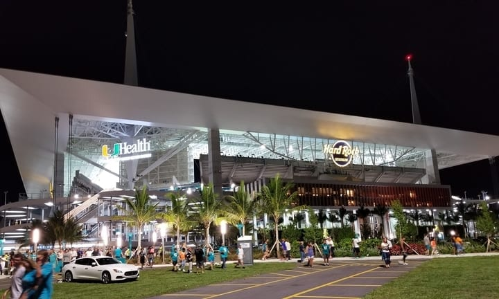 hard rock stadium miami dolphins