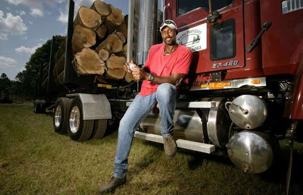 Karl Malone Truck Driving