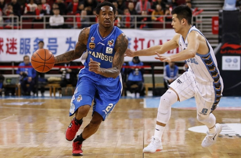 MarShon Brooks Chinese Basketball Association