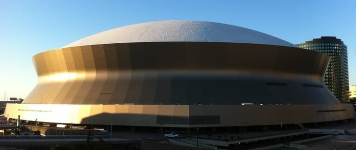 mercedes-benz superdome new orleans saints