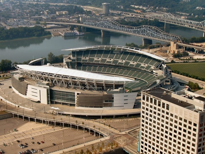 paul brown stadium cincinnati bengals