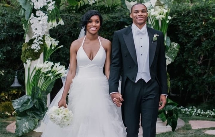 russell westbrook wedding ucla