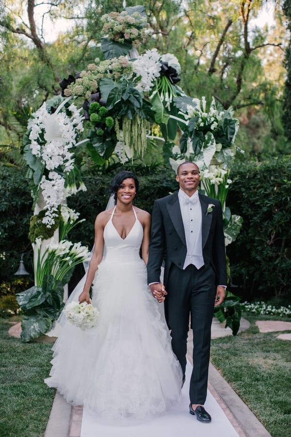 russell westbrook wife wedding