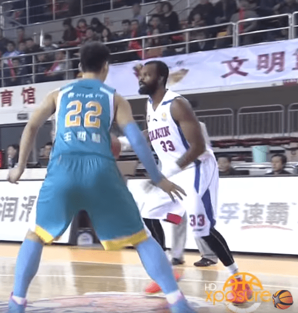 Shelden Williams Chinese Basketball Association