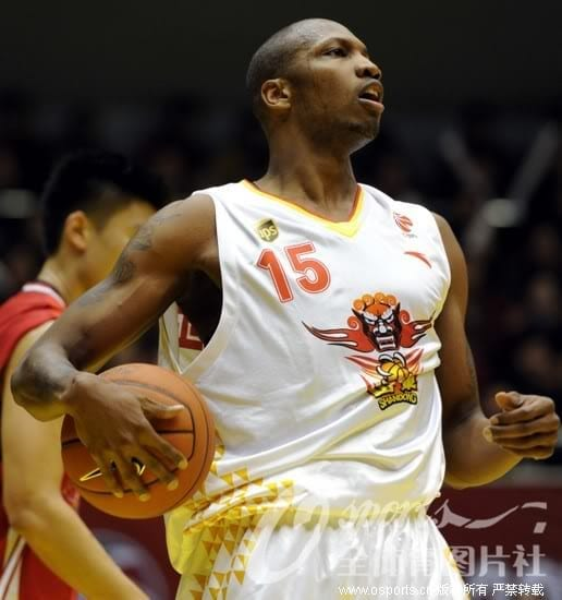 Stromile Swift Chinese Basketball Association