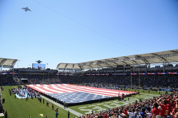 stubhub center los angeles rams