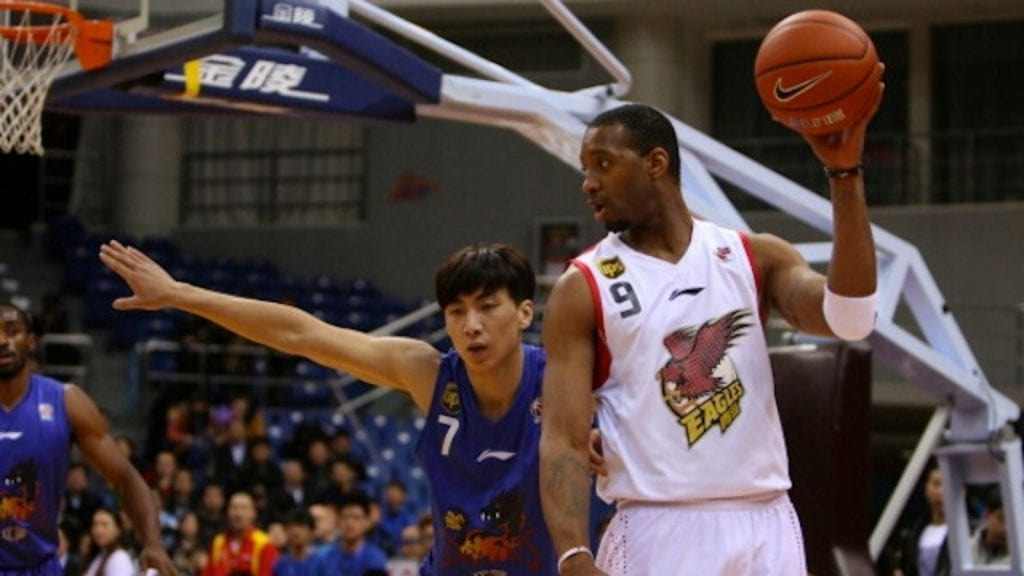 Tracy McGrady Chinese Basketball Association