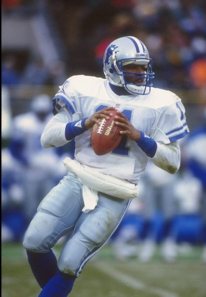 Andre Ware Detroit Lions draft bust