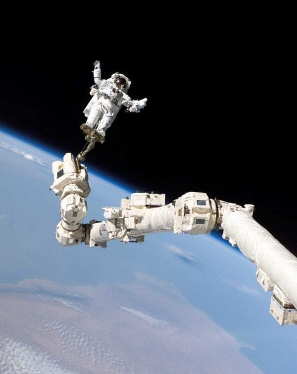 Astronaut spacewalk space extravehicular activity