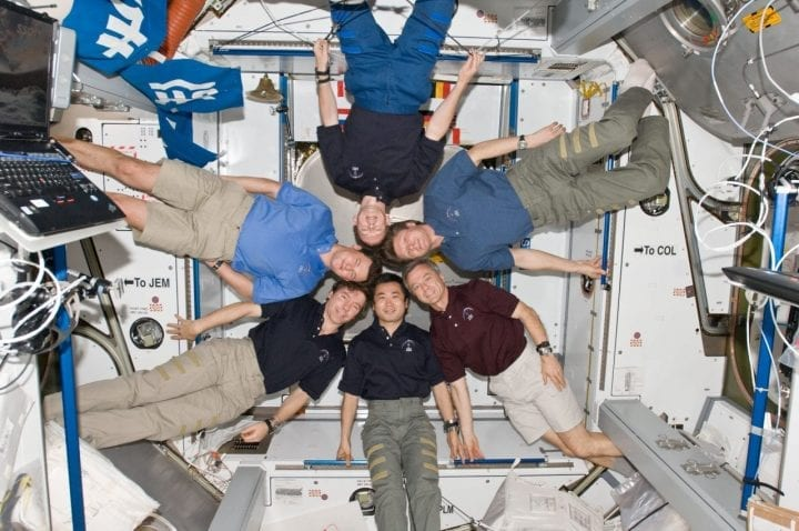 NASA astronauts International Space Station