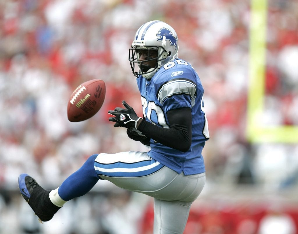 Charles Rogers Detroit Lions draft bust