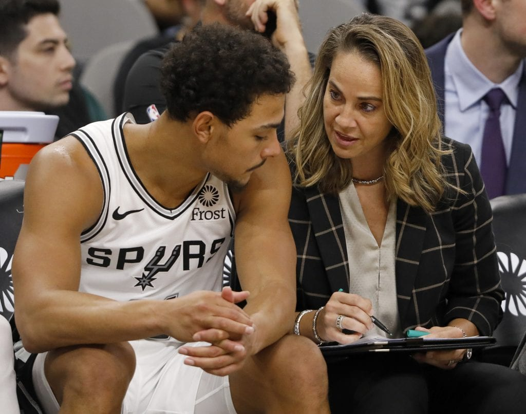 Becky Hammon NBA coach San Antonio Spurs