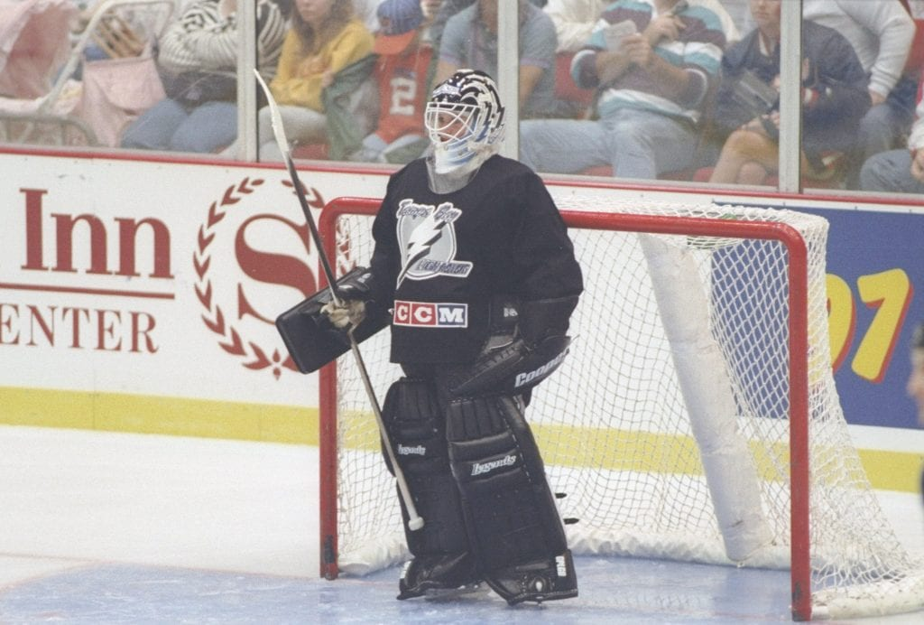 Manon Rheaume female hockey player nhl