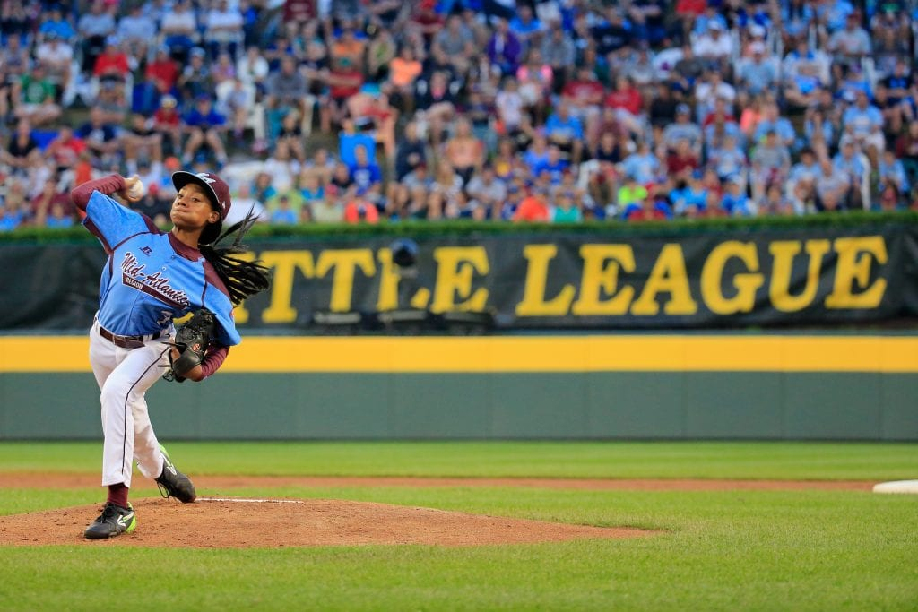 Mo'Ne Davis pitcher little league world series