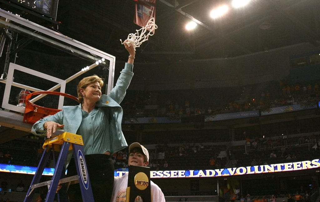 Pat Summitt Tennessee women's basketball