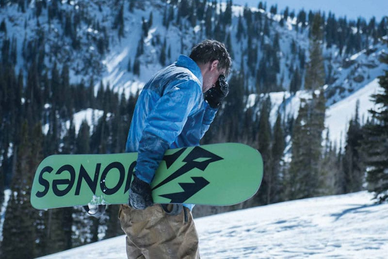 Eric LeMarque snowboarding mammoth