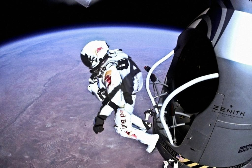 felix baumgartner red bull space jump