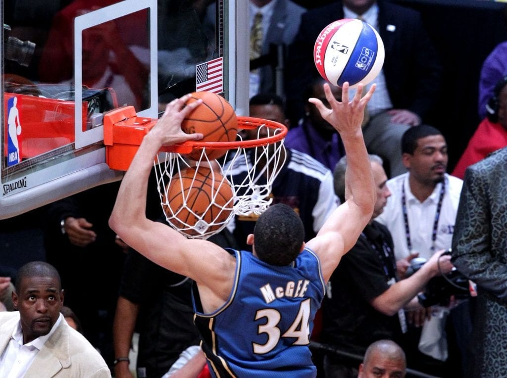 Javale McGree NBA dunk contest