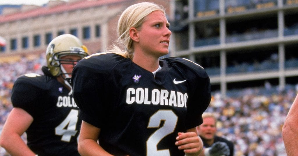 Katie Hnida kicker colorado buffaloes