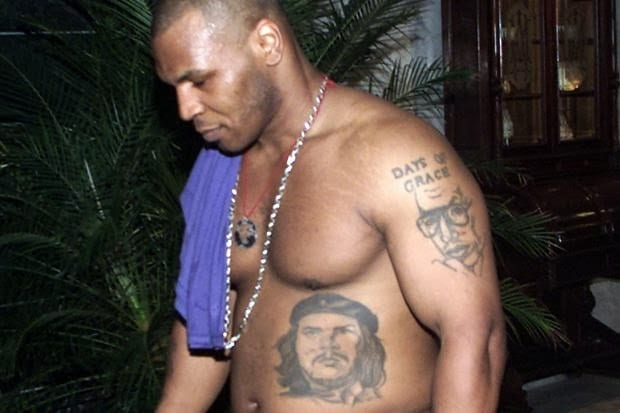 Mike Tyson Che tattoo
