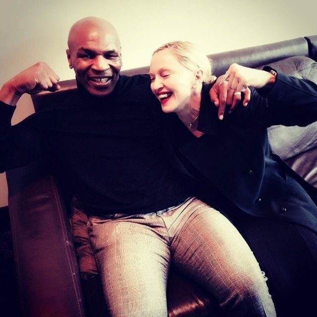 Mike Tyson and Madonna