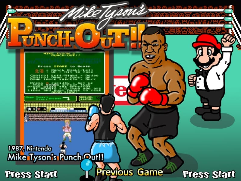 Mike Tyson Punch-Out video game