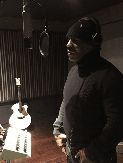 Mike Tyson recording