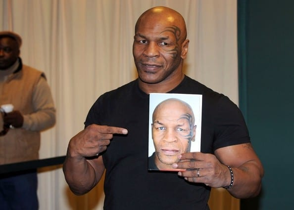 Mike Tyson published book
