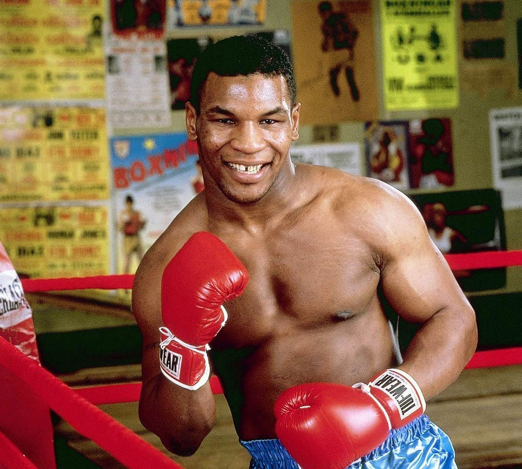 Mike Tyson as a teenager