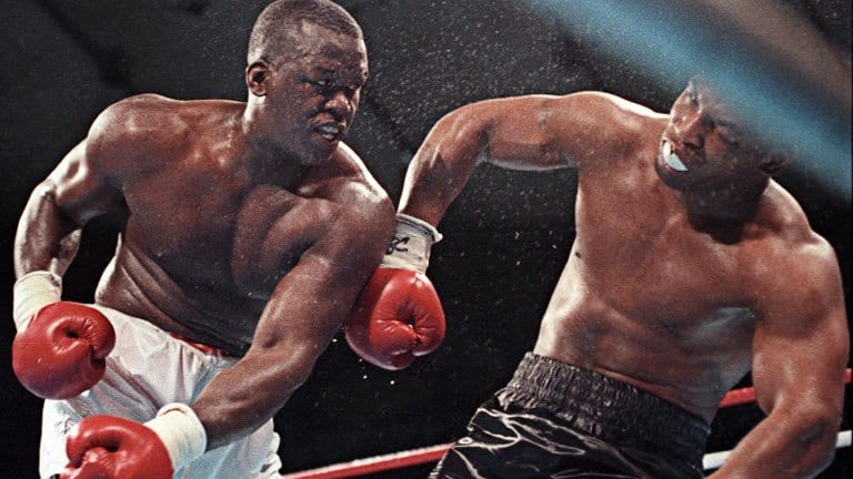 buster douglas vs mike tyson
