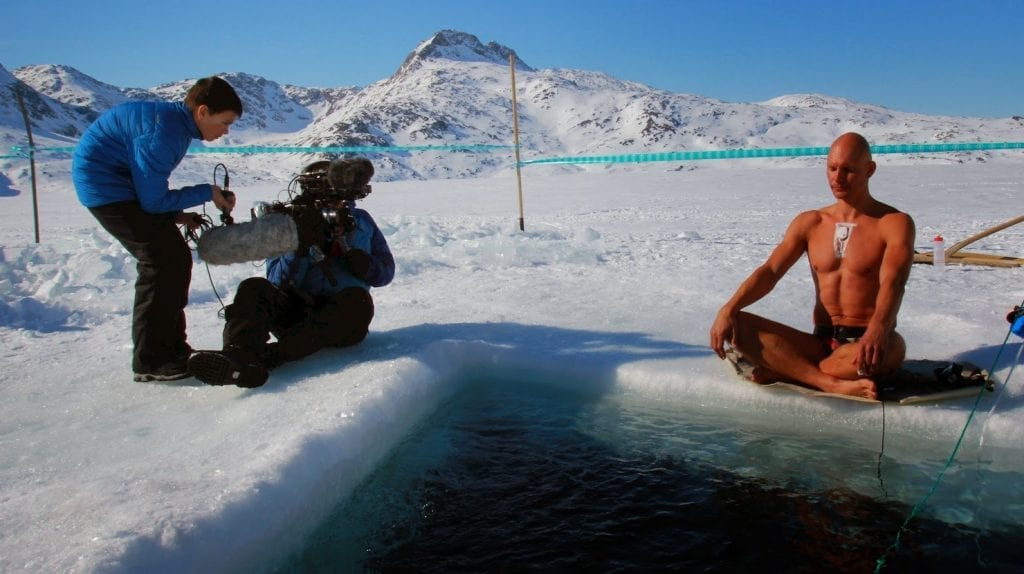 longest underwater swim beneath ice
