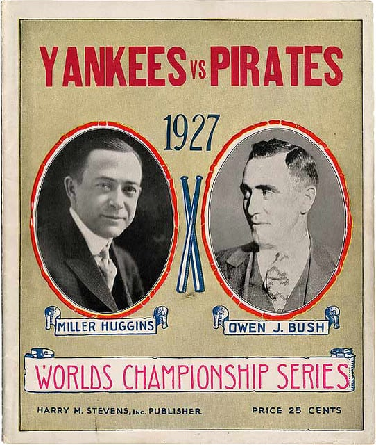 1927 world series