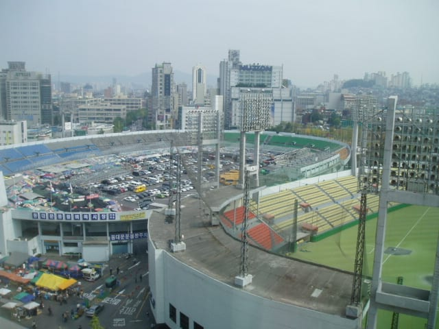 Dongdaemun stadium south korea