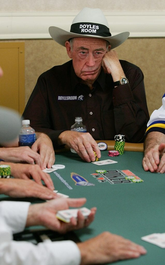 Doyle Brunson poker star