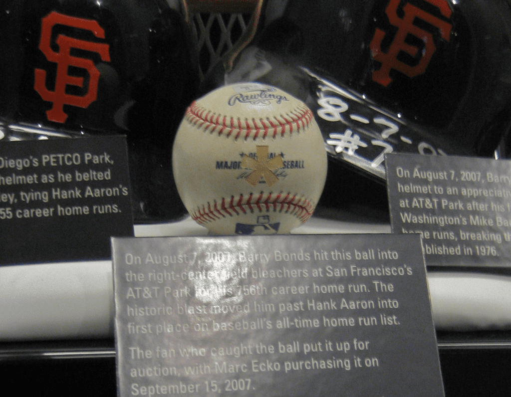 barry bonds 756 home run