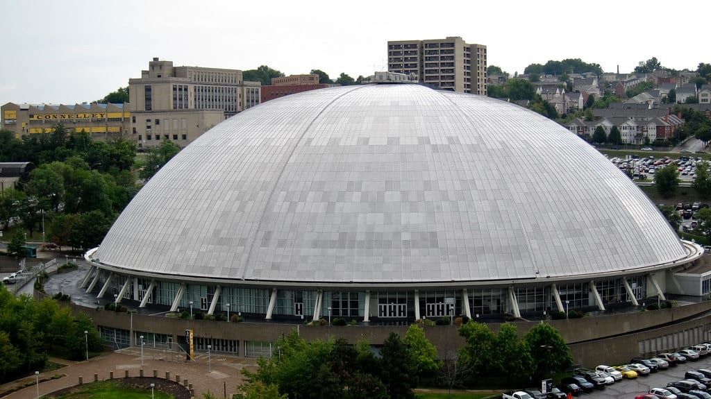 civic arena pittsburgh penguins