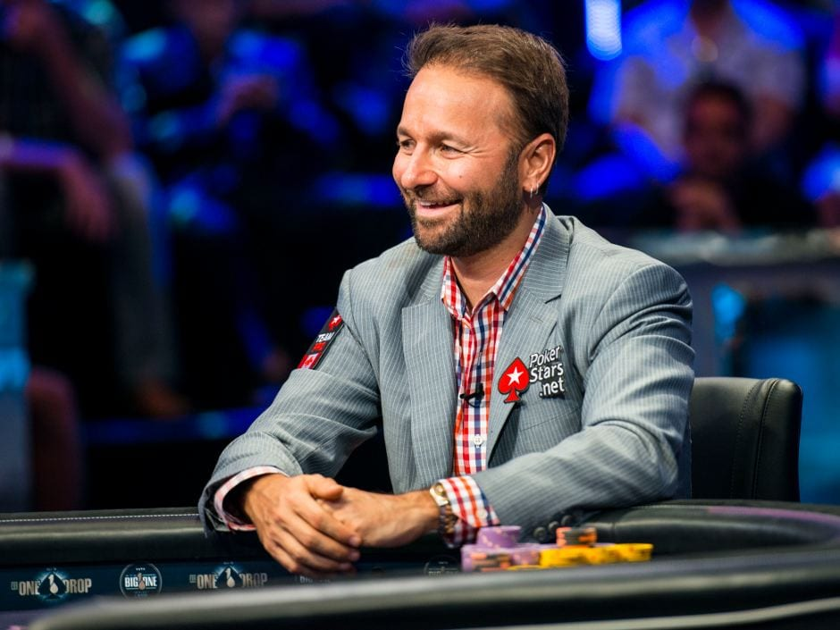 Daniel Negreanu poker player
