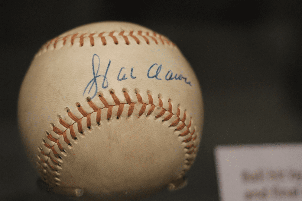 hank aaron last home run