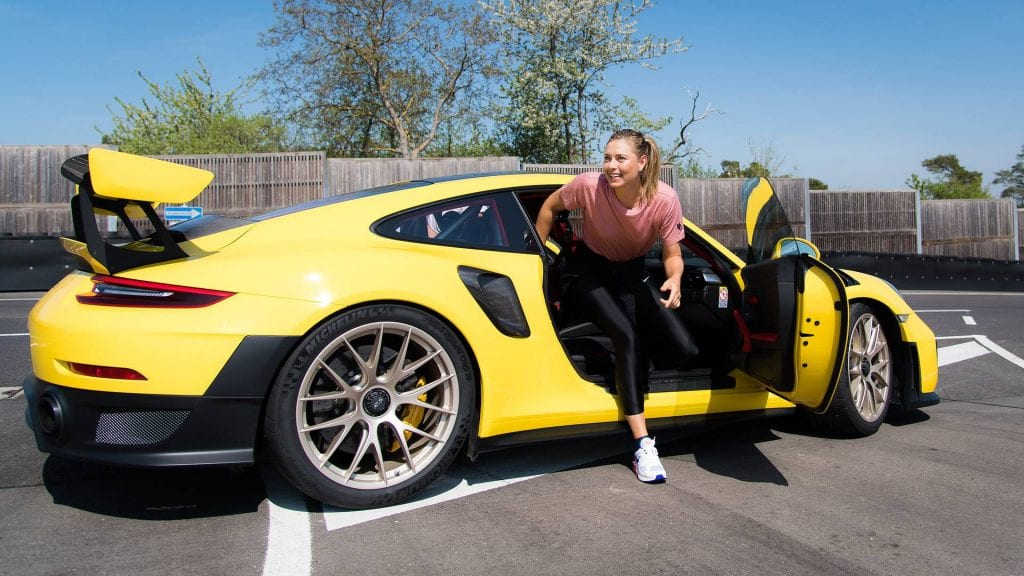 Maria Sharapova car collection