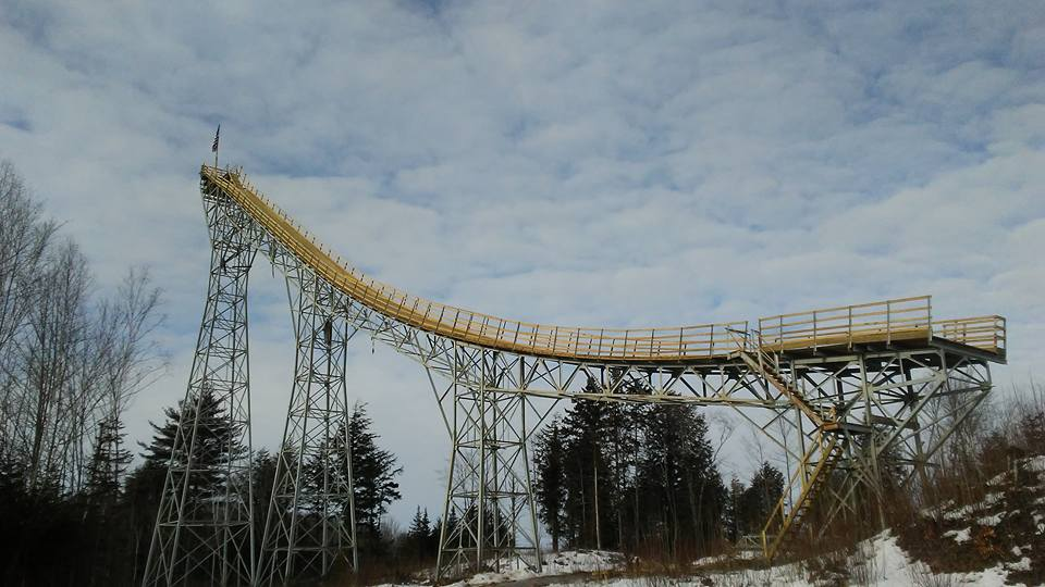 nansen ski jump new hampshire