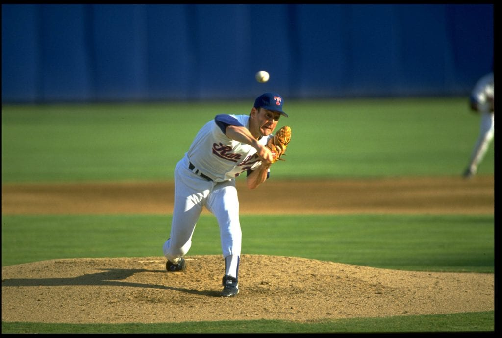 Nolan Ryan pitcher texas rangers