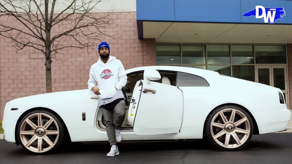 Odell Beckham Jr. car collection