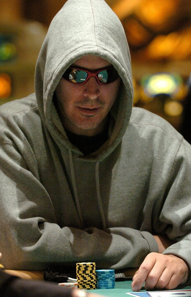 Phil Laak poker player