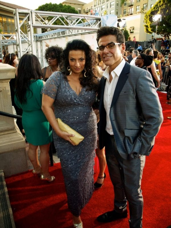 two people on the red carpet