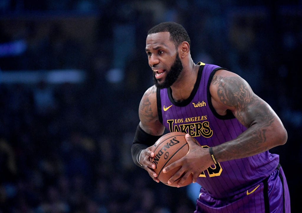 LeBron James, Los Angeles Lakers forward