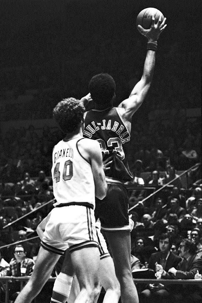 Kareem Abdul-Jabbar, Los Angeles Lakers forward