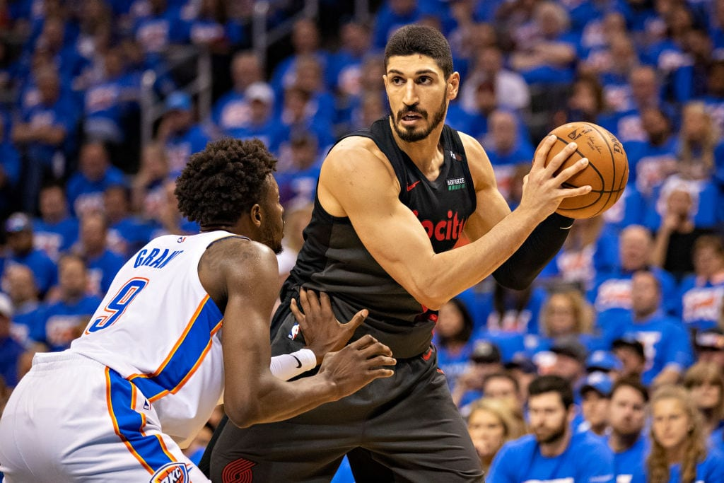 Enes Kanter, Portland Trail Blazers center