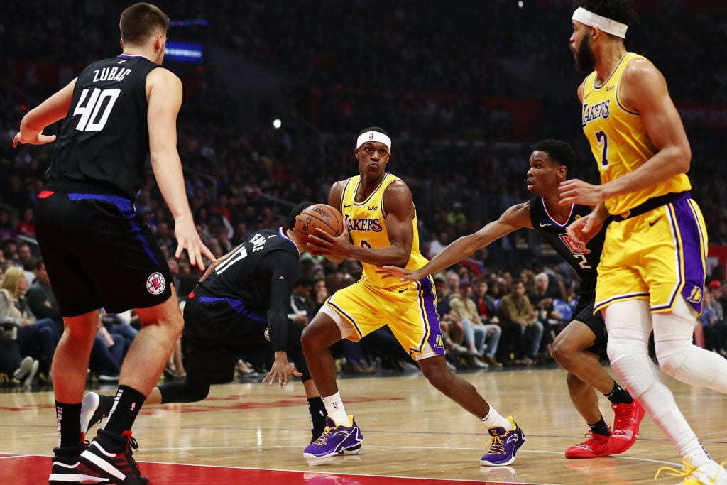 Rajon Rondo, Los Angeles Lakers guard