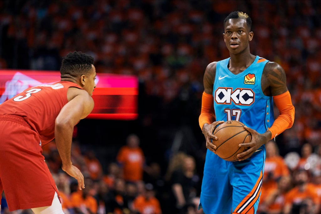 Dennis Schroder, Oklahoma City Thunder guard